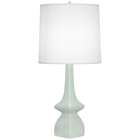 Robert Abbey Jasmine Celadon Ceramic Table Lamp