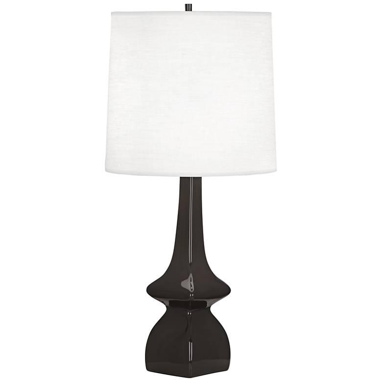 Robert Abbey Jasmine Coffee Ceramic Table Lamp