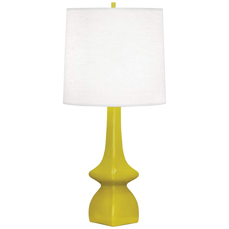 Robert Abbey Jasmine Citron Ceramic Table Lamp