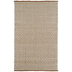 Kaleen Colinas Cream and Tan 8'x10' Wool and Jute Rug