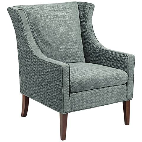Addy Ambrose Steel Wingback Armchair