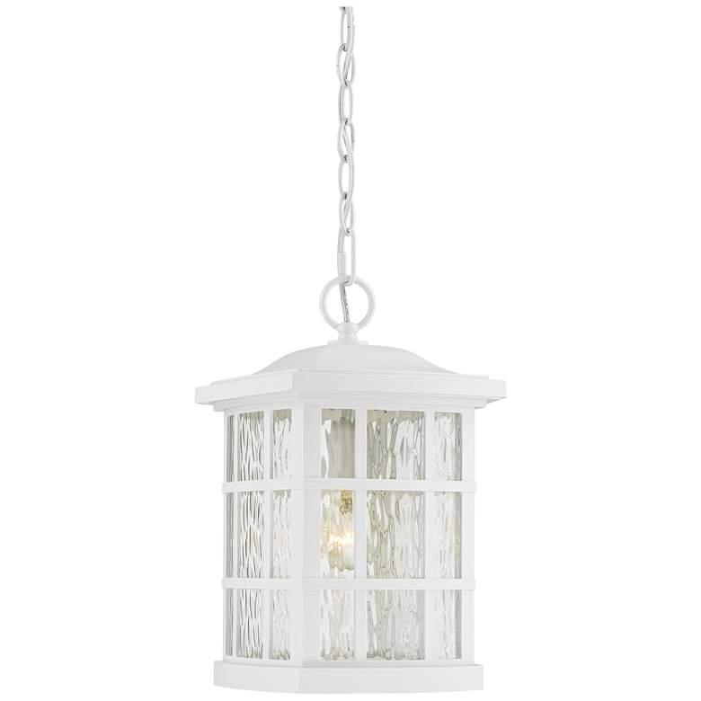 "Quoizel Stonington 15"" High Fresco Outdoor Hanging Light"