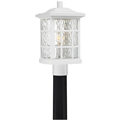 "Quoizel Stonington 16 1/2"" High Fresco Outdoor Post Light"