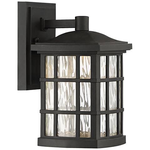 "Stonington 10 1/2"" High Mystic Black LED Outdoor Wall Light"