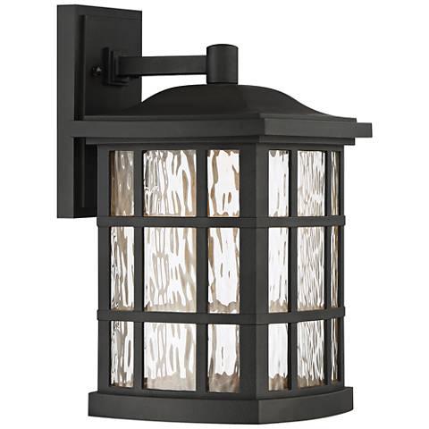 "Stonington 15 1/2"" High Mystic Black LED Outdoor Wall Light"