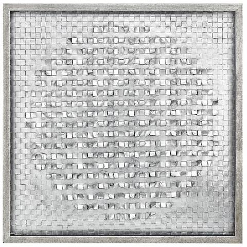 "Leroux 35"" Square Shadow Box Framed Wall Art"