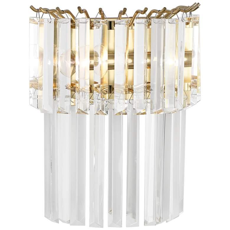 "Robert Abbey Spectrum 12 3/4""H Brass Plug-In Wall"