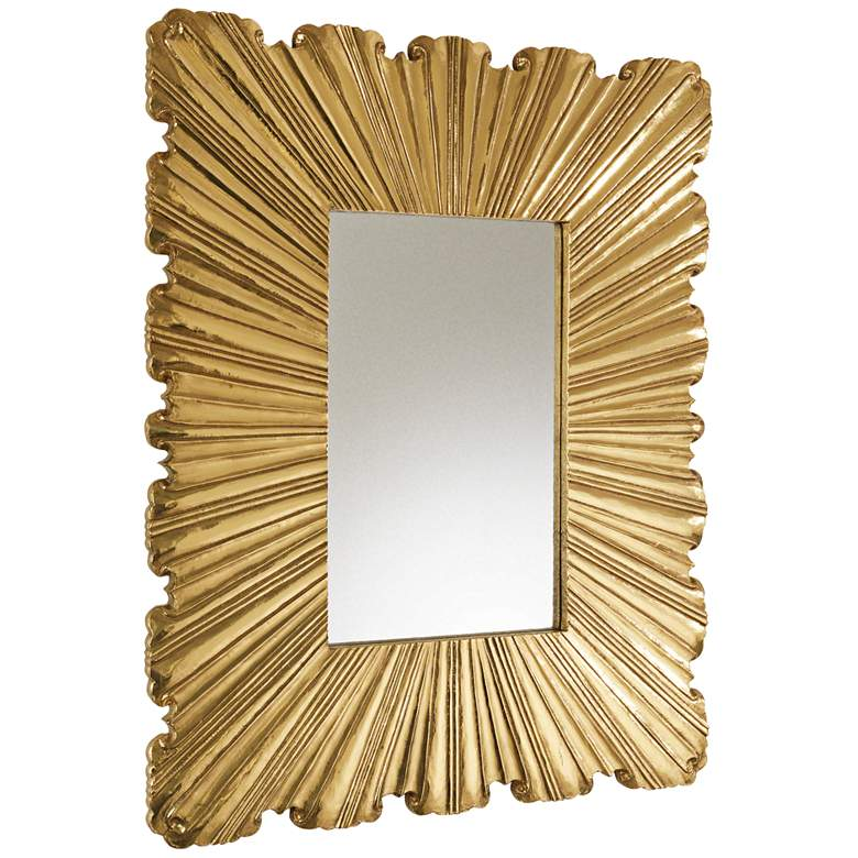 """Linen Fold Brass 31 1/2"""" x 39 1/4"""""""