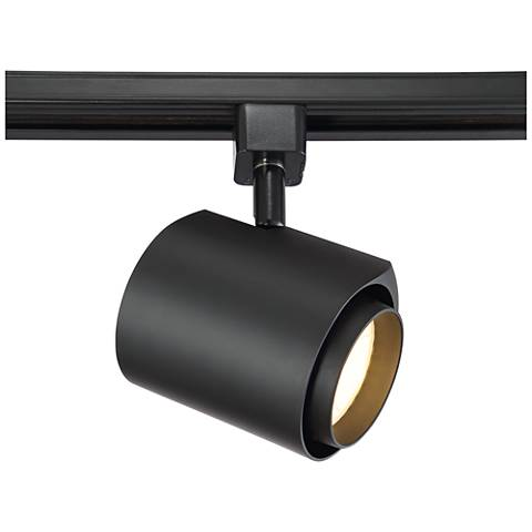 black water drop 22 watt led track head for juno systems 1r022 lamps plus. Black Bedroom Furniture Sets. Home Design Ideas