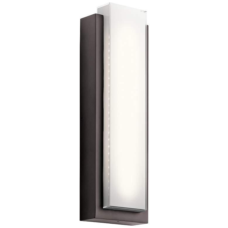"Kichler Dahlia 25 1/4"" High LED Bronze Outdoor"