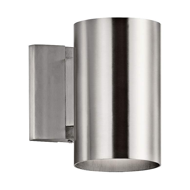 "Kichler Tube 7"" High Aluminum Dark Sky Outdoor Wall Light"