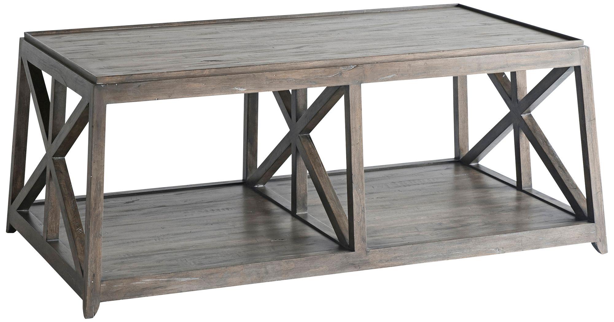 Laidley NoDa Cocoa Wood Coffee Table