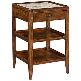 Tamworth 18 Wide Reclaimed Wood Accent Table