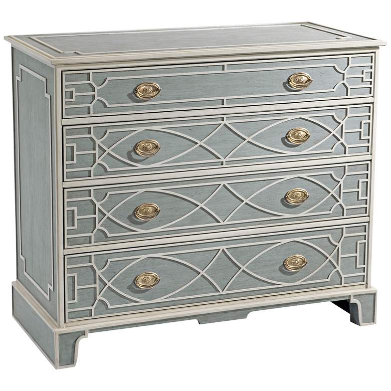 """Morning Room 42"""" Wide George III Paneled Chest of Drawers"""