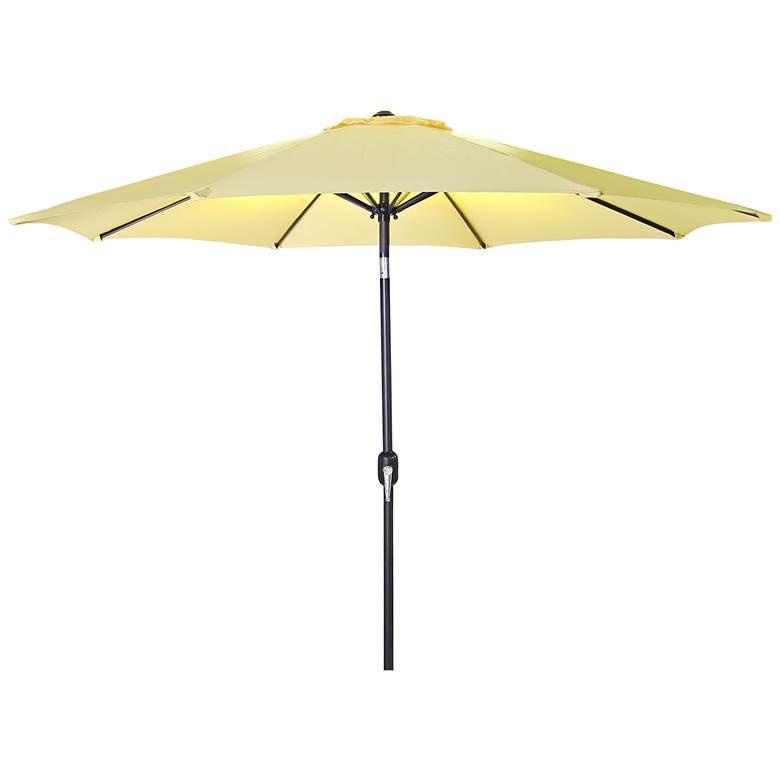 Encinitas Canary 7 1/2' Steel Market Umbrella
