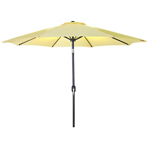 Encinitas Canary 7 1/2' Steel Market Umbrella