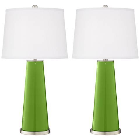 Rosemary Green Leo Table Lamp Set of 2