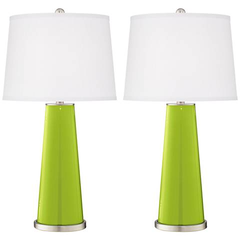 Tender Shoots Leo Table Lamp Set of 2