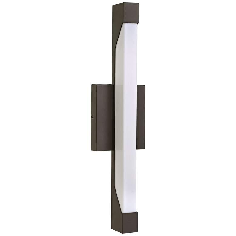 "Hinkley Vista 18 3/4"" High LED Bronze Outdoor Wall Light"