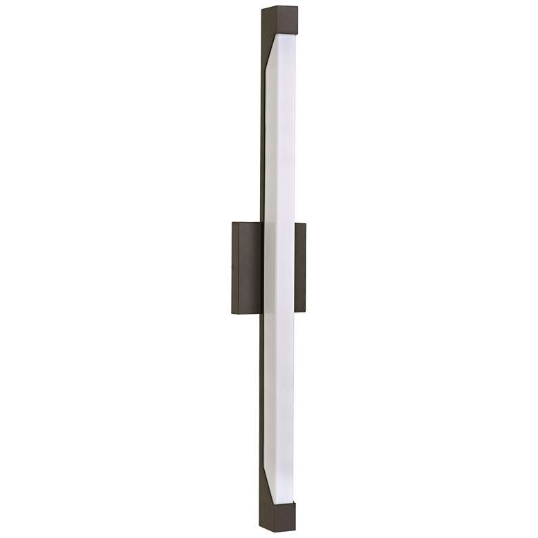 "Hinkley Vista 29 1/2"" High LED Bronze Outdoor Wall Light"