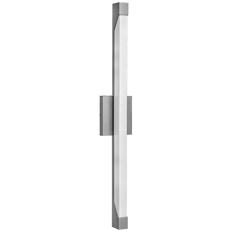 "Hinkley Vista 29 1/2""H LED Titanium Outdoor Wall Light"