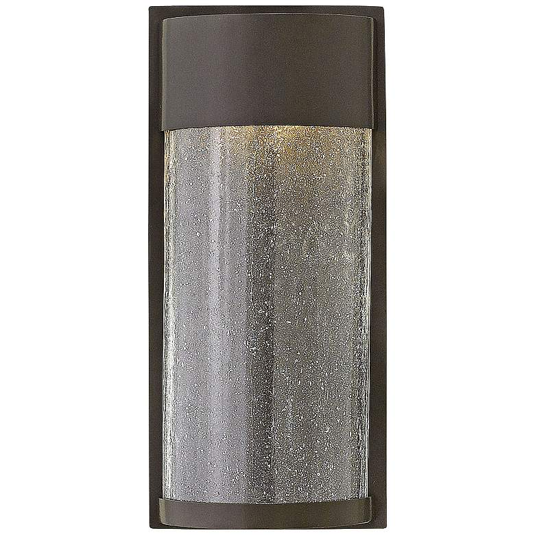 "Hinkley Shelter 12"" High LED Bronze Outdoor Wall"