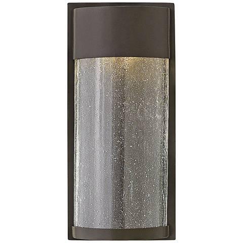 "Hinkley Shelter 12"" High LED Bronze Outdoor Wall Light"