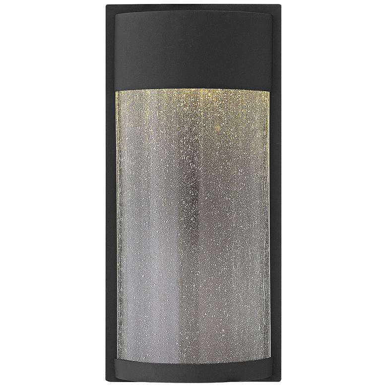 "Hinkley Shelter 18"" High LED Black Outdoor Wall"