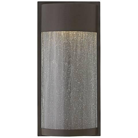 "Hinkley Shelter 18"" High LED Bronze Outdoor Wall Light"