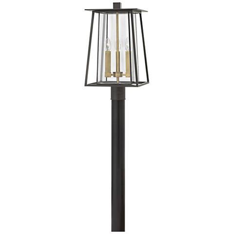"""Hinkley Walker 20 1/2"""" High Bronze Outdoor Post Light"""