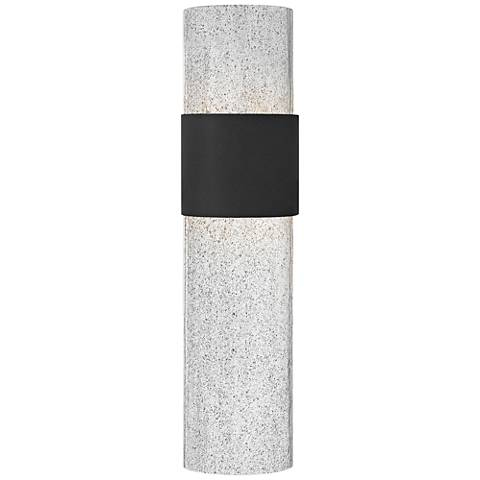 "Hinkley Horizon LED 20 1/2"" High Black Outdoor Wall Light"