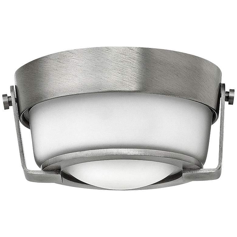 "Hinkley Hathaway 7"" Wide LED Antique Nickel Ceiling Light"