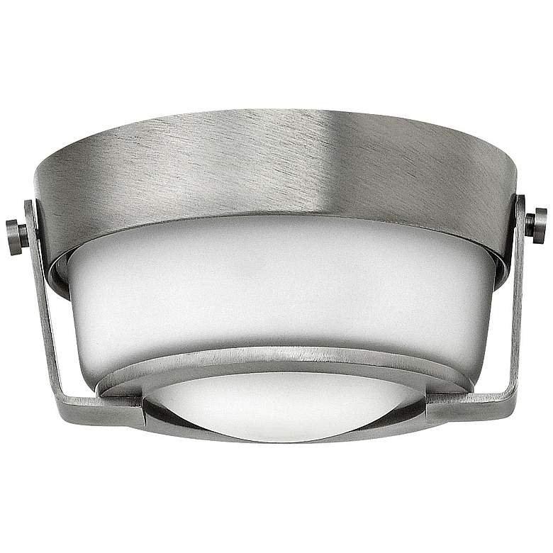 "Hathaway Nickel 7"" Wide LED Surface Mount or"