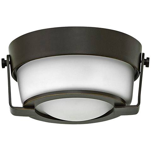 "Hinkley Hathaway 7"" Wide LED Olde Bronze Ceiling Light"