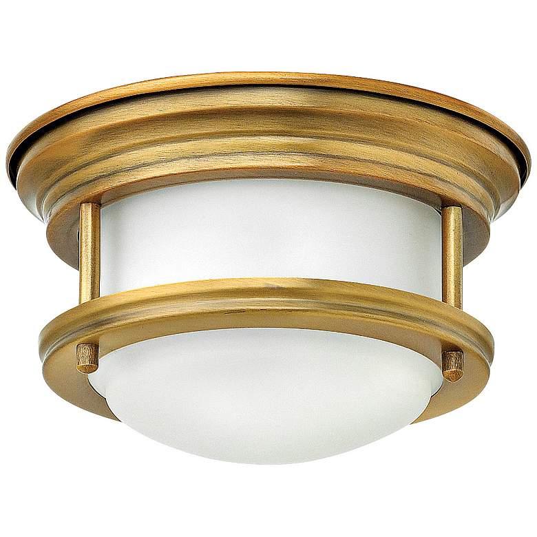 "Hinkley Hathaway 7 3/4""W LED Brushed Bronze Ceiling Light"