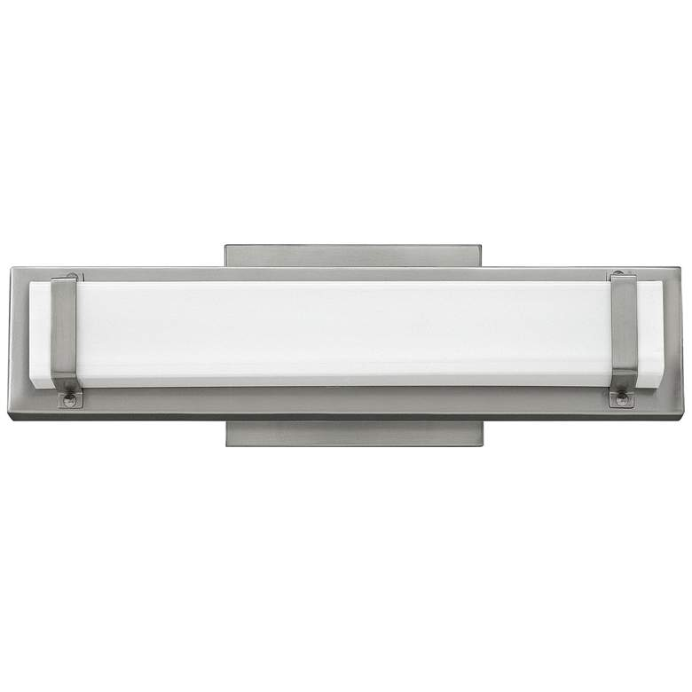"Hinkley Tremont 16"" Wide Brushed Nickel LED Bath Light"