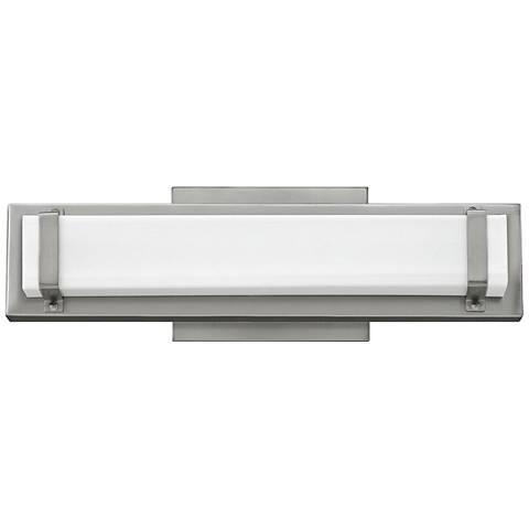 """Hinkley Tremont 16"""" Wide Brushed Nickel LED Bath Light"""