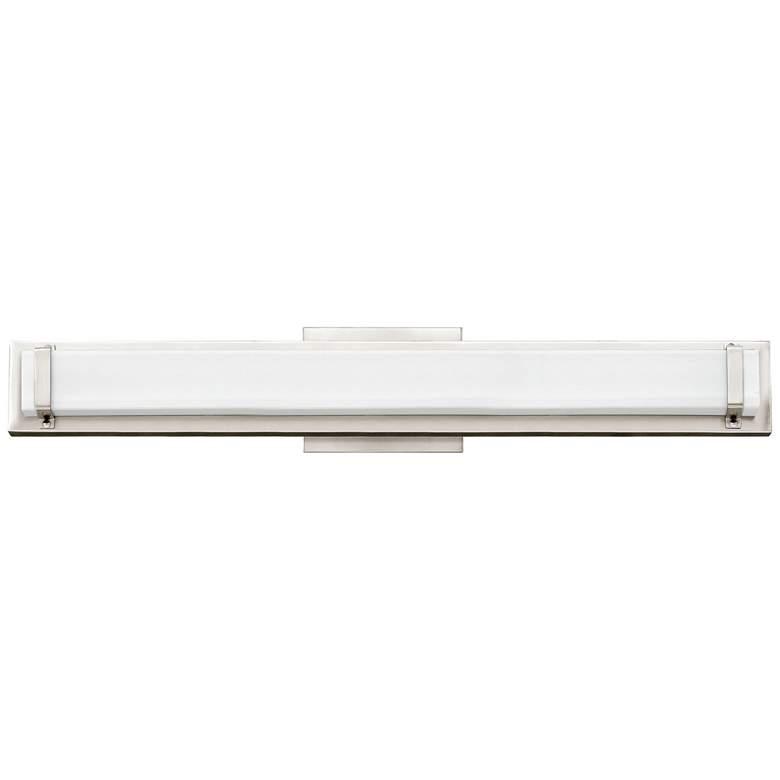 "Hinkley Tremont 29 1/2""W Polished Nickel 2-LED Bath Light"
