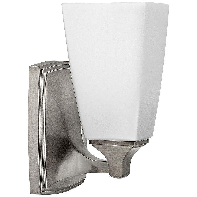 """Hinkley Darby 8 1/4"""" High Brushed Nickel Wall Sconce"""