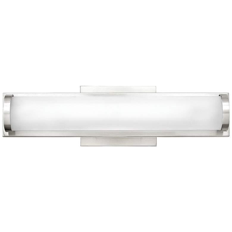 "Hinkley Acclaim 16"" Wide Polished Nickel LED Bath Light"