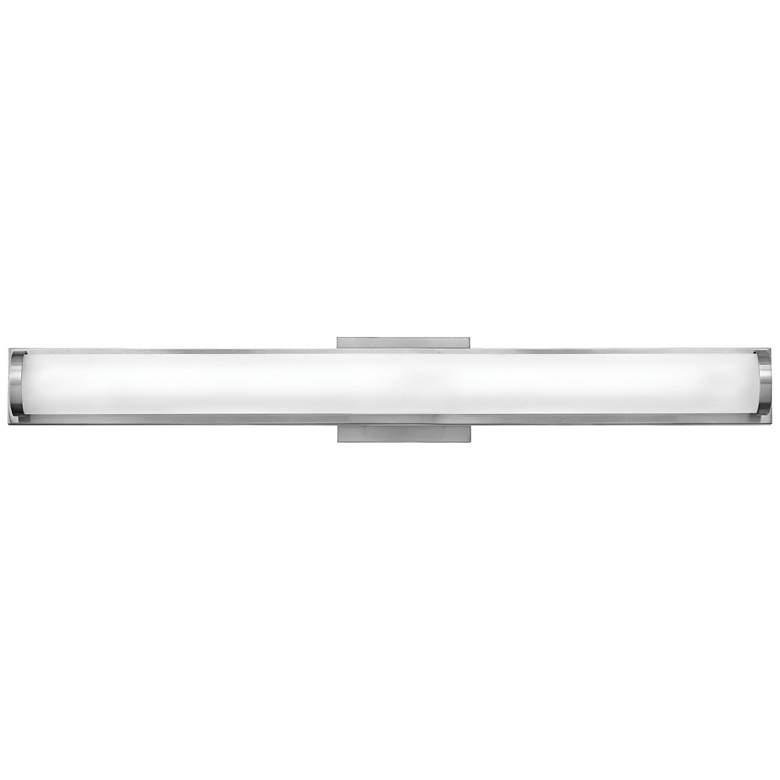 """Hinkley Acclaim 29 1/2""""W Brushed Nickel LED Bath Light"""