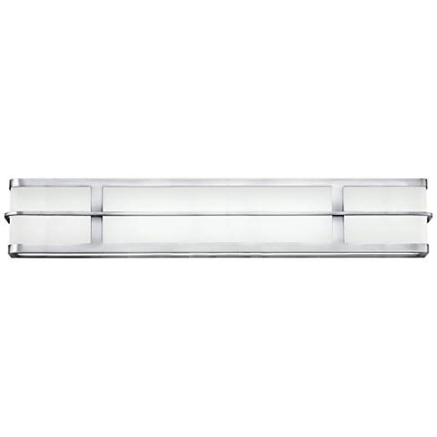 "Hinkley Fairlane 29 1/2"" Wide Chrome 2-LED Bath Light"