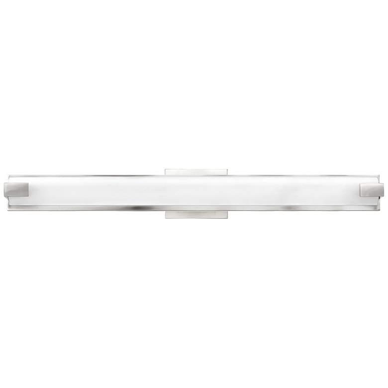 "Hinkley Unity 29 1/2"" W Polished Nickel 2-LED Bath Light"