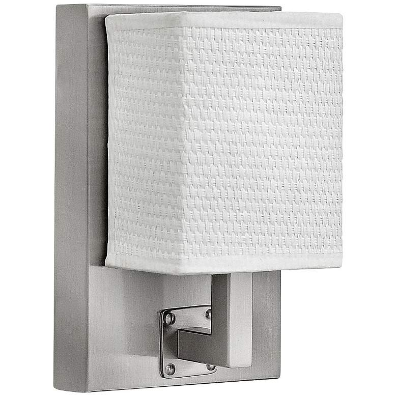 """Hinkley Avenue 7 3/4"""" High Brushed Nickel LED Wall Sconce"""