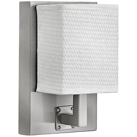 "Hinkley Avenue 7 3/4"" High Brushed Nickel LED Wall Sconce"