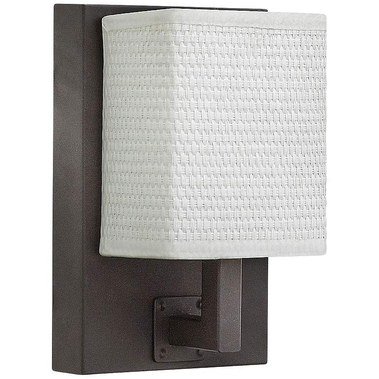"""Hinkley Avenue 7 3/4"""" High Oiled Bronze LED Wall Sconce"""