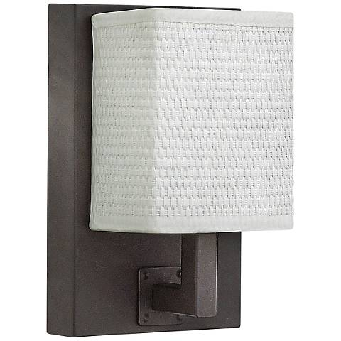 "Hinkley Avenue 7 3/4"" High Oiled Bronze LED Wall Sconce"