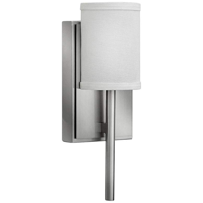"Hinkley Avenue 12 3/4""H Brushed Nickel LED Wall"