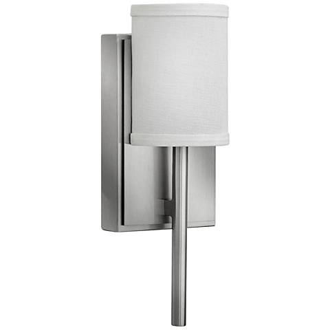 "Hinkley Avenue 12 3/4""H Brushed Nickel LED Wall Sconce"