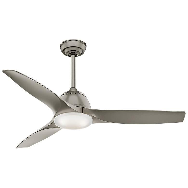 """52"""" Casablanca Wisp Pewter LED Ceiling Fan"""